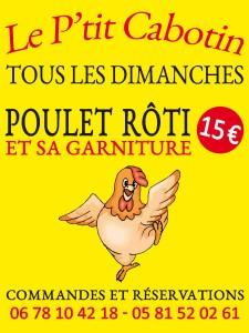 Panneau_Poulet Rôti_75x100